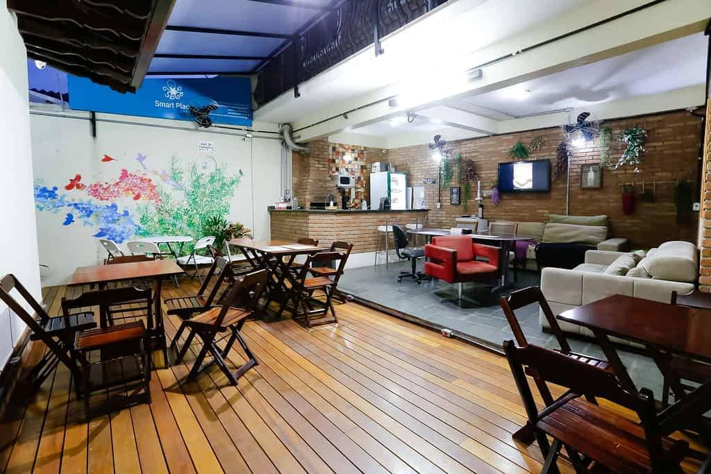 Smart Place Coworking - Auditório e Área de Convivência